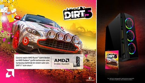 AMD DIRT 5 Kampanyası
