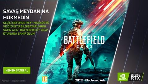 Nvidia Battlefield 2042 Kampanyası