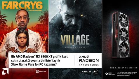 AMD 6900 XT Oyun Kampanyası