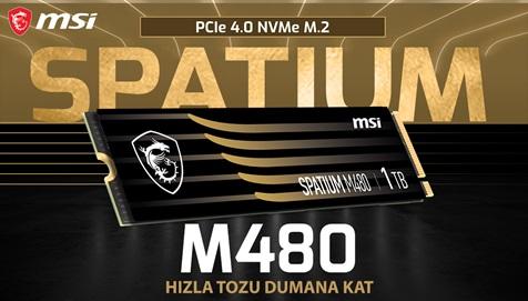 MSI Spatium M480 PCIe 4.0 NVMe SSD