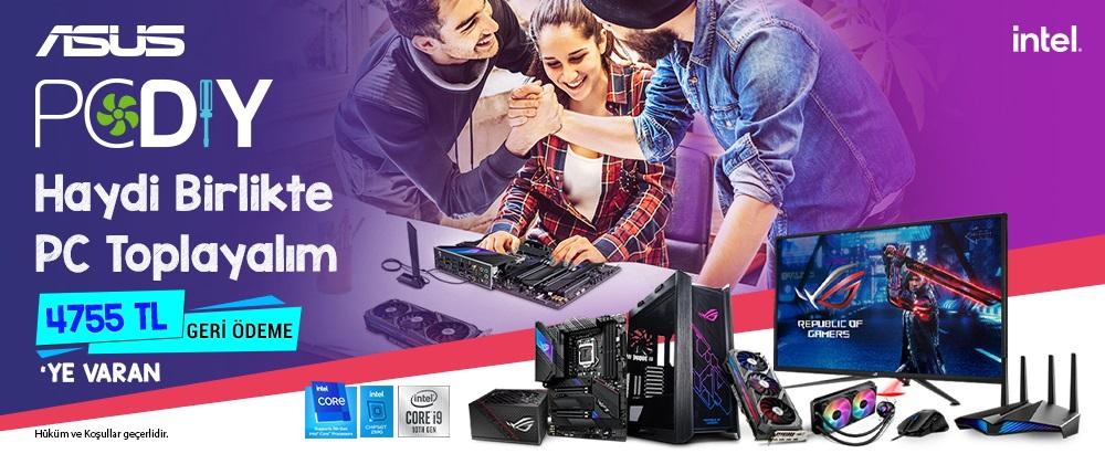 ASUS PC DIY Kampanyası