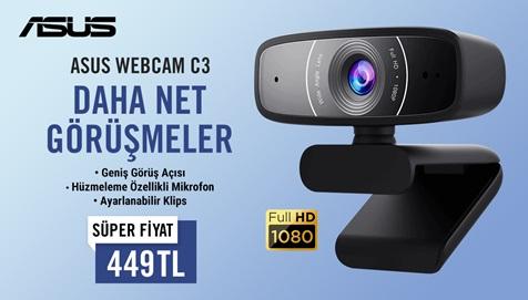 ASUS WEBCAM C3 kampanyası