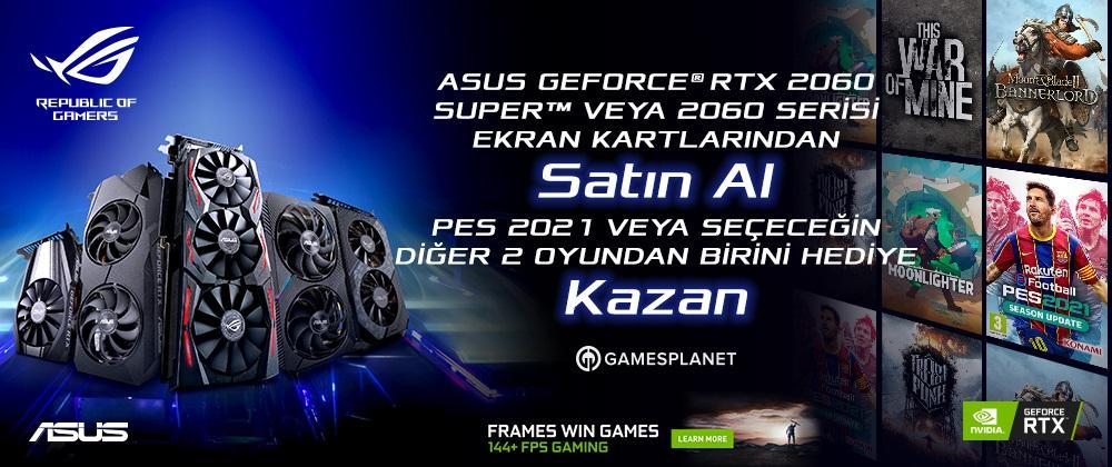 ASUS RTX 2060 GAME BUNDLE