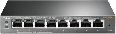 Tp-Link TL-SG108PE 8 Port Gigabit Yönetilebilir Switch