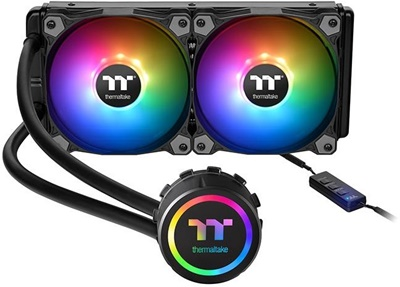 Thermaltake Water 3.0 ARGB 240 mm Intel-AMD Uyumlu Sıvı Soğutucu
