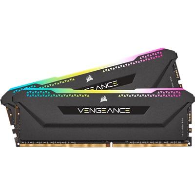 Corsair 16GB(2x8) Vengeance RGB PRO SL 3600mhz CL16 DDR4  Ram (CMH16GX4M2Z3600C16)
