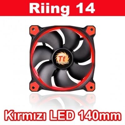 Thermaltake Riing Kırmızı Led 140 mm Fan