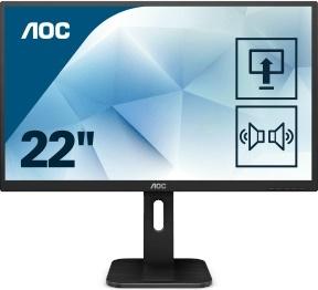 """En ucuz Aoc 21.5"""" 22P1D 2ms 60Hz HDMI,VGA,DVI Monitör Fiyatı"""