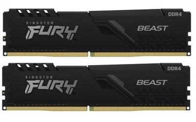 Kingston 16GB(2x8) Fury Beast 2400mhz CL15 DDR4  Ram (HX424C15FB3K2/16)