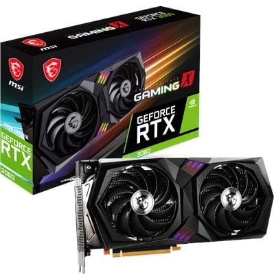 MSI GeForce RTX 3060 Gaming X 12G 12GB GDDR6 192 Bit Ekran Kartı