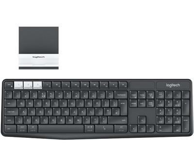 En ucuz Logitech K375S Türkçe Q Standlı Kablosuz Klavye Fiyatı