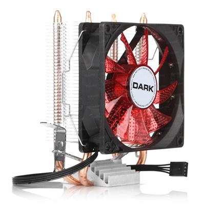 Dark Freezer X92 92 mm Kırmızı Led Intel-AMD Uyumlu Hava Soğutucu