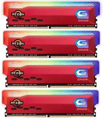 En ucuz GeIL 64GB(4x16) Orion RGB 3600mhz CL18 DDR4  Ram (GAOSR432GB3600C18BDCX4) Fiyatı