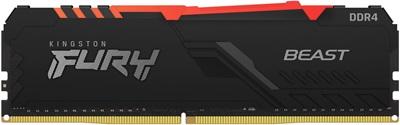 Kingston 8GB Fury Beast RGB 3600mhz CL17 DDR4  Ram (KF436C17BBA/8)