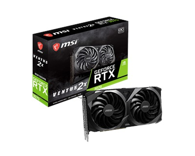 MSI GeForce RTX 3070 Ventus 2X 8G OC LHR 8GB GDDR6 256 Bit Ekran Kartı