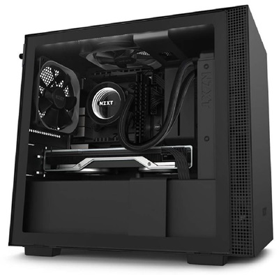 NZXT H210i Tempered Glass RGB Siyah USB 3.1 Mini-ITX Mini Tower Kasa
