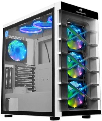 GameBooster GB-PR021BW RGB Tempered Glass USB 3.0 ATX Mid Tower Kasa