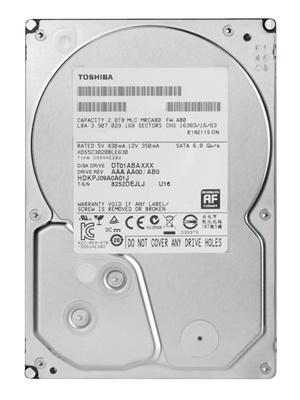 Toshiba 3TB  64MB 7200rpm (DT01ACA300) Harddisk