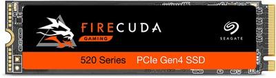 Seagate 1TB FireCuda 520 NVMe Okuma 5000MB-Yazma 4400MB M.2 SSD (ZP1000GM3A002)