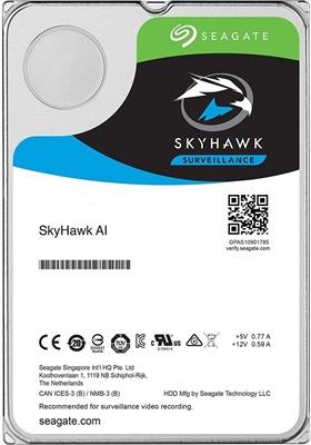 Seagate 12TB Skyhawk AI 256MB 7200rpm (ST12000VE0008) Güvenlik Diski