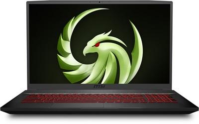 MSI Bravo 17 A4DDR-039XTR Ryzen 7 4800H 16GB 512GB SSD 4GB Radeon RX5500M 17.3 Dos Gaming Laptop