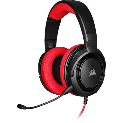 En ucuz Corsair HS35 Stereo  Kırmızı Gaming Kulaklık  Fiyatı