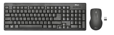 Trust 22118 Ziva Türkçe Q  Kablosuz Klavye + Mouse Set