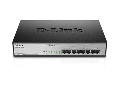 En ucuz D-Link DGS-1008MP 8 Port Gigabit Yönetilemez Switch Fiyatı