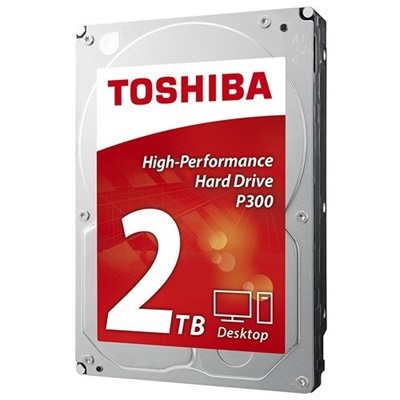 Toshiba 2TB P300 64MB 7200rpm (HDWD120UZSVA) Harddisk
