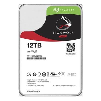 En ucuz Seagate 12TB Ironwolf 256MB 7200rpm (ST12000VN0008) NAS Diski Fiyatı