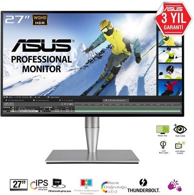 "En ucuz Asus 27"" PA27AC ProArt 5ms 60hz HDMI,DPPort,Thunderbolt 2K IPS Monitör Fiyatı"
