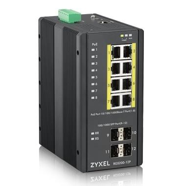 Zyxel RGS200-12P 12 Port Gigabit Yönetilebilir Switch