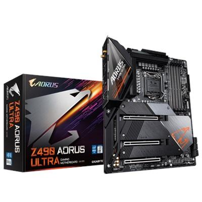 En ucuz Gigabyte Z490 Aorus Ultra 5000mhz(OC) RGB M.2 Wi-Fi 1200p ATX Anakart Fiyatı