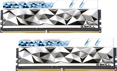 G.Skill 32GB(2x16) Trident Z Royal Elite Silver 3600mhz CL14 DDR4  Ram (F4-3600C14D-32GTESA)