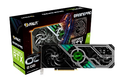 Palit GeForce RTX 3060 Ti GamingPro OC 8GB GDDR6 256 Bit Ekran Kartı