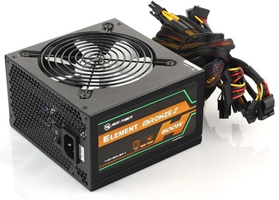 High Power 600W Element 80+ Bronze  Güç Kaynağı