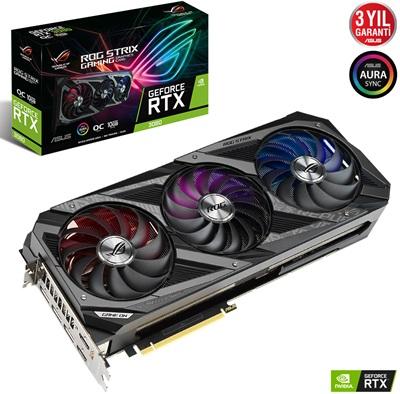 Asus GeForce RTX 3080 Rog Strix O10G Gaming 10GB GDDR6X 320 Bit Ekran Kartı