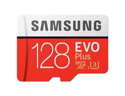 En ucuz Samsung 128GB MicroSDXC Evo Plus 100 MB/s U3 Class 10 Hafıza Kartı (MB-MC128GA/TR) Fiyatı