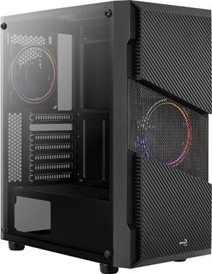 Aerocool Menace Saturn RGB USB 3.0 ATX Mid Tower Kasa
