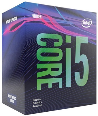 Intel Core i5 9400F 2.90Ghz 6 Çekirdek 9MB 1151p v2 14nm İşlemci