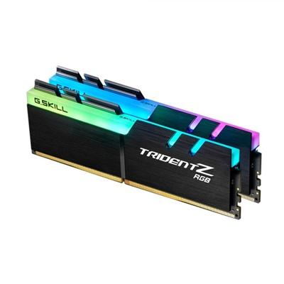 G.Skill 16GB(2x8) Trident Z RGB Siyah 3200mhz CL16 DDR4  Ram (F4-3200C16D-16GTZR)
