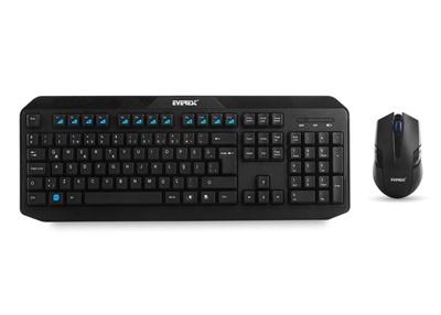 En ucuz Everest KM-8000 Türkçe Q  Kablosuz Klavye + Mouse Set Fiyatı