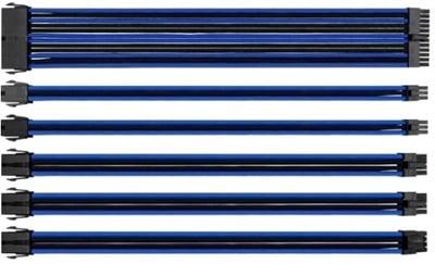 Thermaltake Tt Mod Mavi/Siyah Power Supply Sleeved Kablo Seti