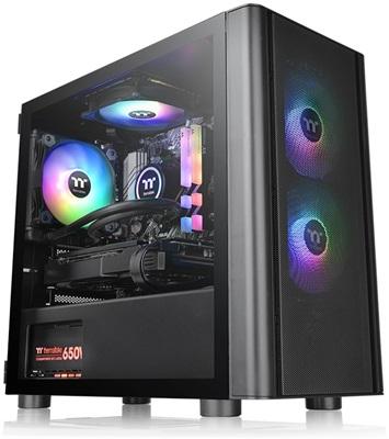 Thermaltake V150 Breeze Edition Tempered Glass ARGB USB 3.0 mATX Mini Tower Kasa