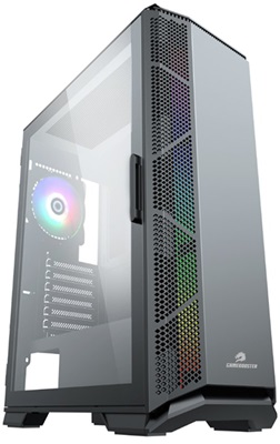 GameBooster GB-G5170B 600W 80+ Tempered Glass RGB USB 3.0 E-ATX Mid Tower Kasa