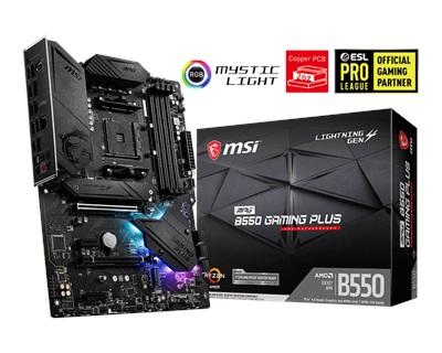En ucuz MSI MPG B550 Gaming Plus 4400mhz(OC) RGB M.2 AM4 ATX Anakart Fiyatı