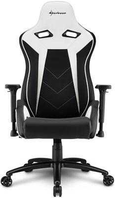 Sharkoon Elbrus3 Beyaz/Siyah Oyuncu Koltuğu