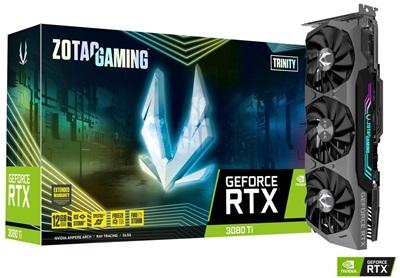 Zotac GeForce RTX 3080 Ti Trinity 12GB GDDR6X 384 Bit Ekran Kartı