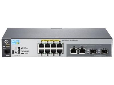 HP J9780A 8 Port 10/100 Yönetilemez Switch