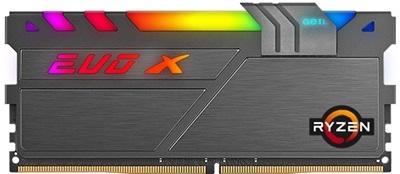 GeIL 16GB(2x8) Evo X II RGB AMD Edition 3600mhz CL18 DDR4  Ram (GAEXSY416GB3600C18BD)